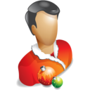 user,christmas,account icon