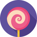 food, lollipop, dessert, candy, sweet icon