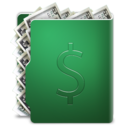 dollar,folder,currency icon