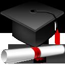 graduation, hat icon