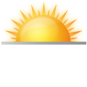 sunrise, weather, sun rise, rising sun icon