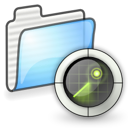 search, saved, application icon