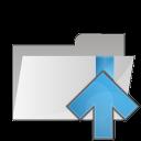 folder arrow up icon
