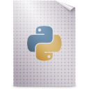 gnome, mime, application, bytecode, python icon