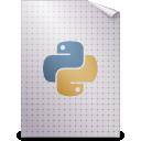 python, text, mime, gnome icon