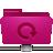 folder, backup, pink, remote icon