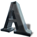 font, a, letter icon