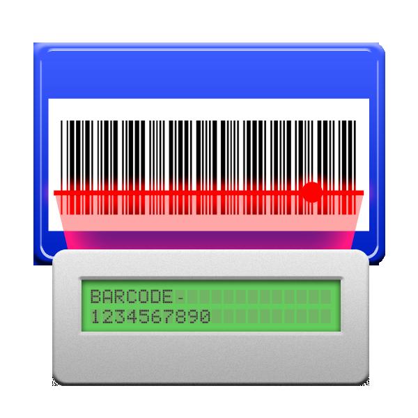 barcode, reader icon