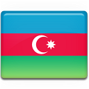azerbaijan, flag icon