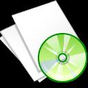 paper, document, file, music, white icon