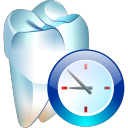 temporary, tooth icon