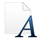 document,font icon