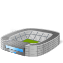 building, architecture, stadium icon