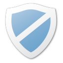 security, shield, guard, protect, blue icon