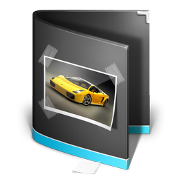 photo, black, pic, picture, image, folder icon
