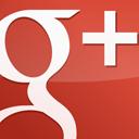 googleplus, red, gloss icon