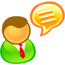 speak, comment, chat, talk icon