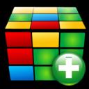 plus, add, cube icon