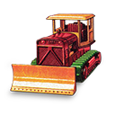 Bulldozer, Case icon