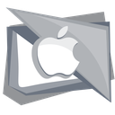 apple, mobile, fruit, computer, device icon