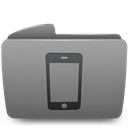 Folder, Iphone icon