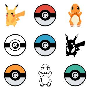 Pokemon Go icon sets preview