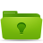 Folder, Green, Ideas icon
