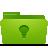 green, idea, folder icon