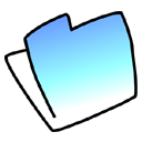 aqua, folder icon