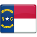 north,carolina,flag icon