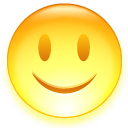 smile, emot, emotion, smiley, face, fun, happy, funny icon