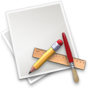 file, paper, draw, pen, applications icon