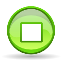 Actions player stop icon
