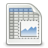 48, spreadsheet, office, gnome icon