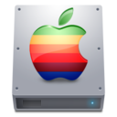 hdd,apple,harddisk icon
