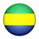 flag,gabon,country icon