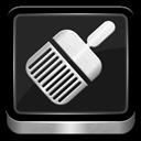 Cleaner, Metallic icon
