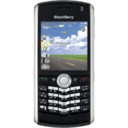 blackberry,pearl,black icon