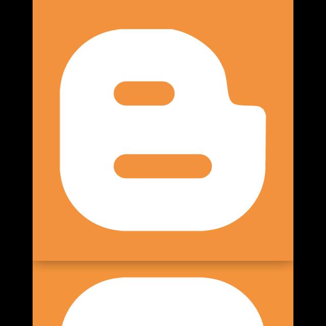 blogger, mirror, google icon