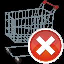 shopping cart remove icon