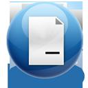 remove, file icon