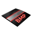 bmp, paper, file, document icon