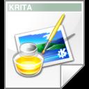 krita, kra icon