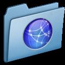 site, blue icon