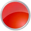 circle,red,round icon