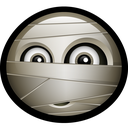 spooky, mascot, halloween, horror, scary, dead, mummy icon