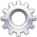 system, preferences, wheel icon