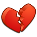 heart,broken,valentine icon