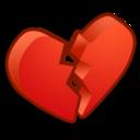 heart,broken,valentine icon