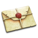 sealed,note icon